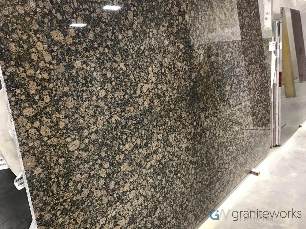 Granite – Baltic Brown slab-min